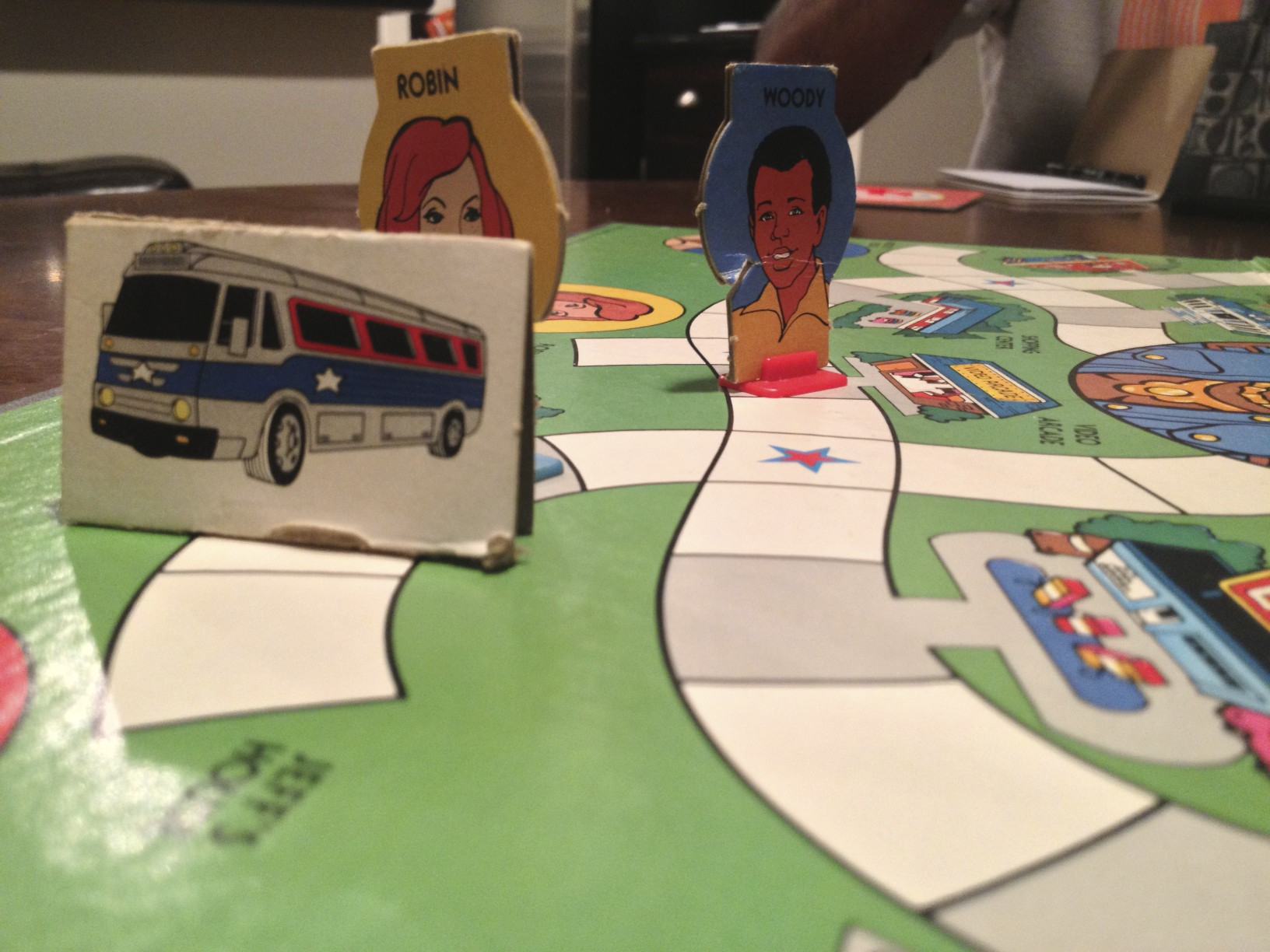 Characters and Bus